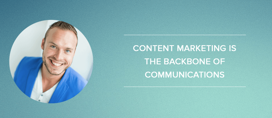 Online-marketingplan: Content marketing is the backbone of communications