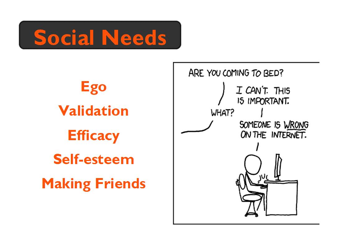 Social community needs